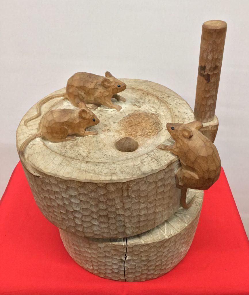 木彫 置物